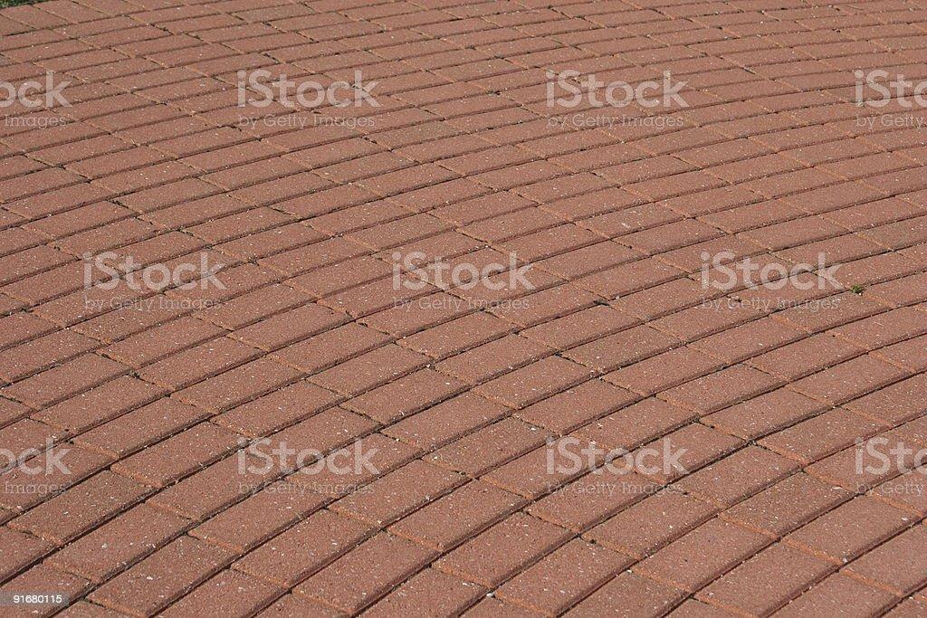 Brick paver pattern royalty-free stock photo