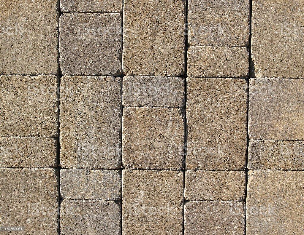 Brick Pavers - C royalty-free stock photo