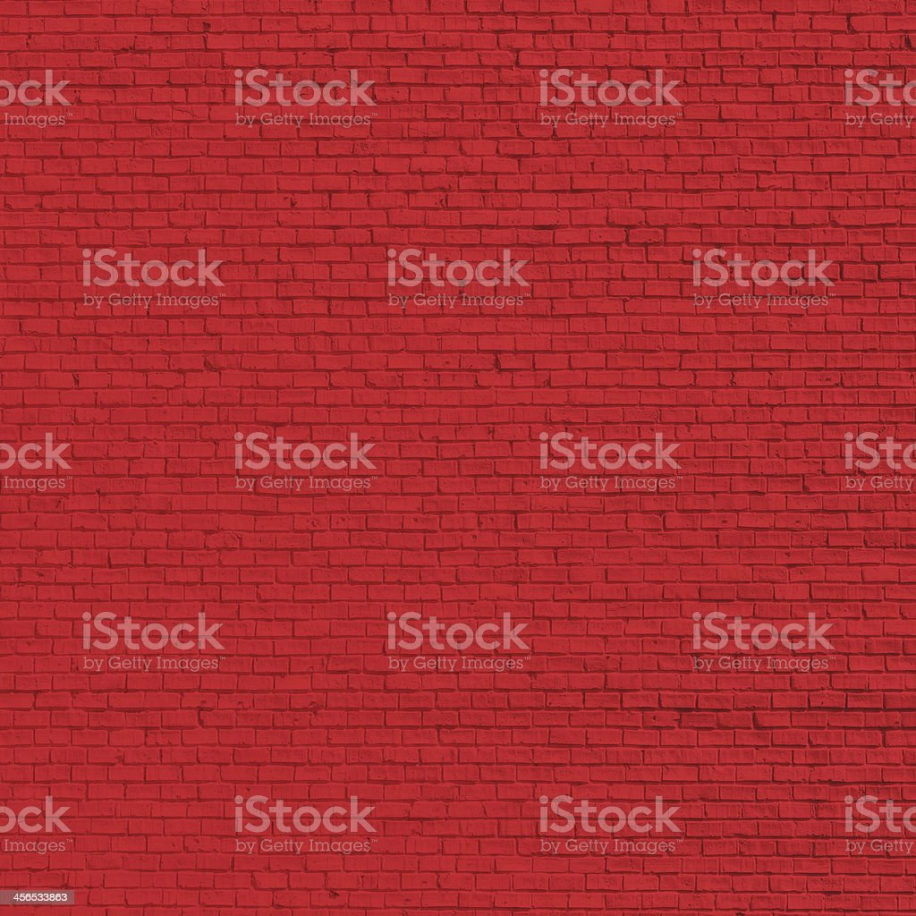 Brick red wall royalty-free stock photo