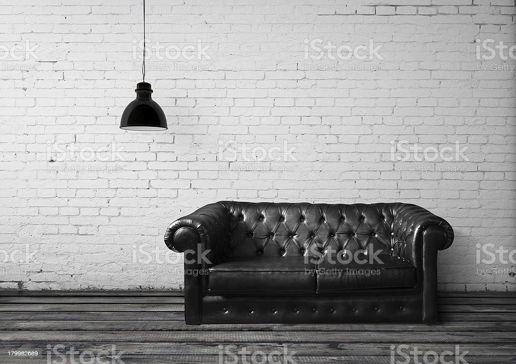 brick room stock photo