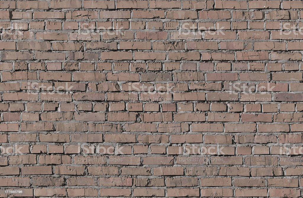 Brick seamless wall royalty-free stock photo