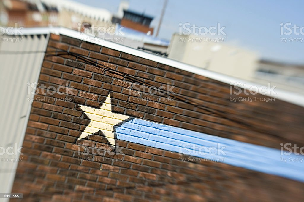 brick star, nashville stock photo