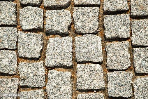 istock Brick stone background. 1323088037