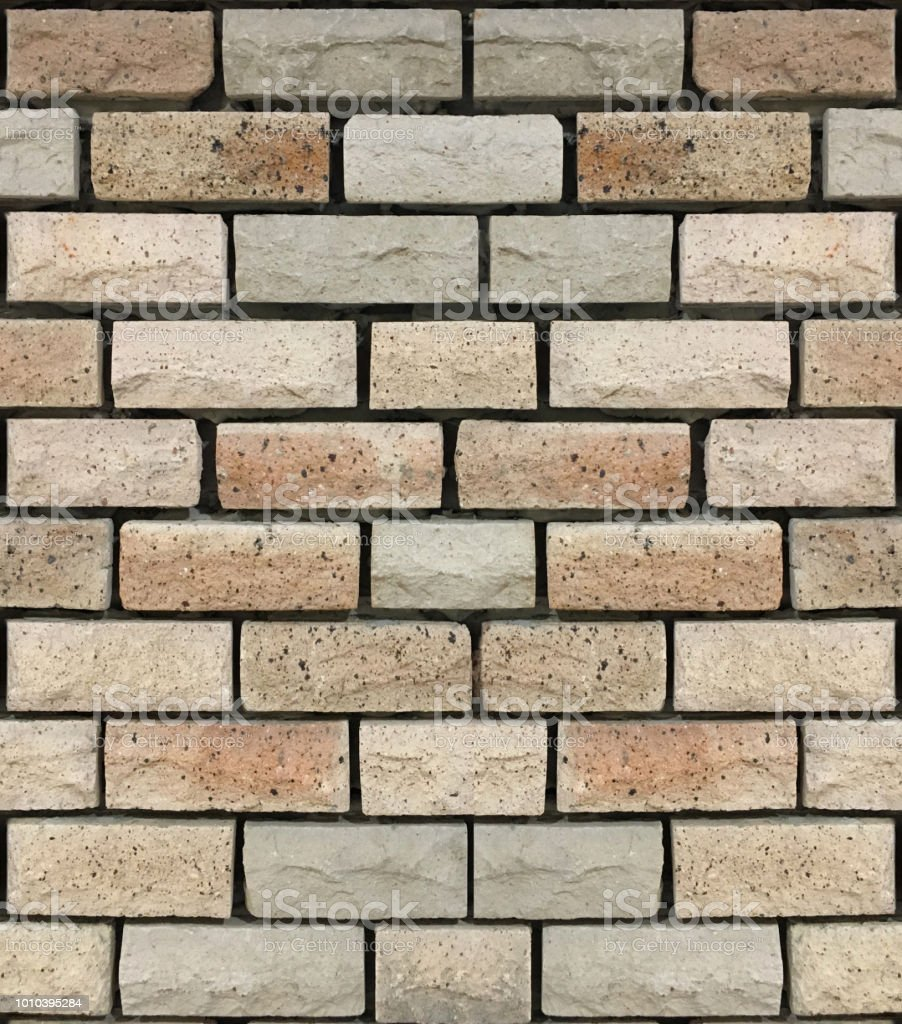 Brick Stone Cladding Texture In Earth Tone Royalty Free Stock Photo