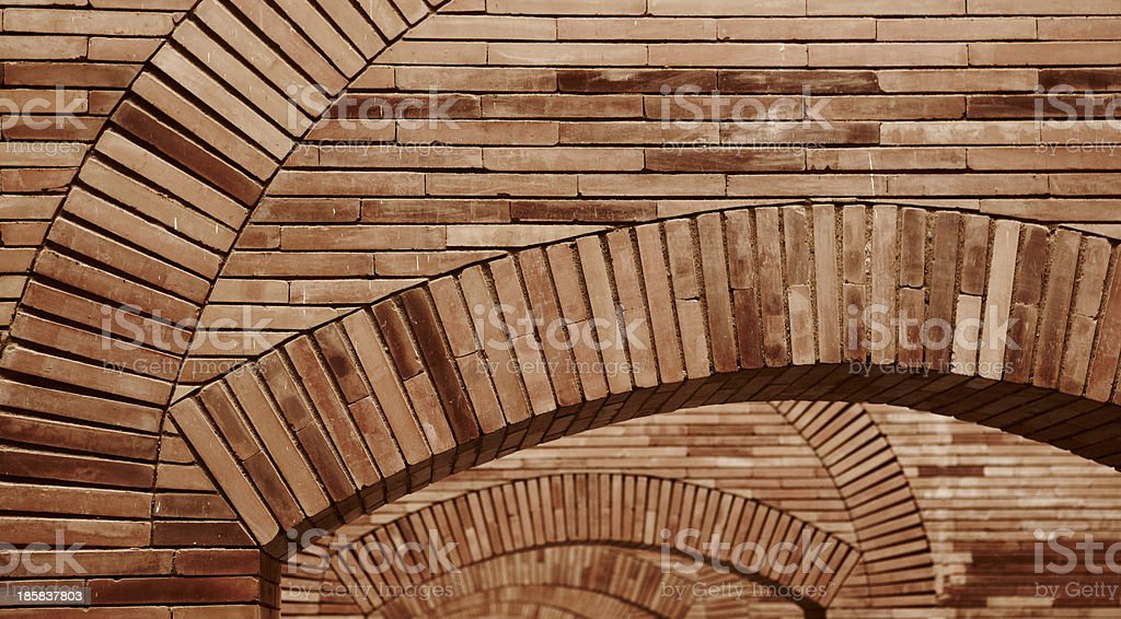 Brick structure royalty-free stock photo