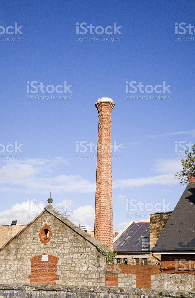 Brick Tower Lizenzfreies stock-foto