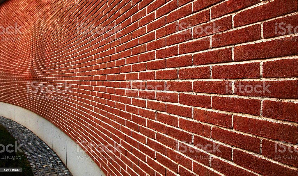 Brick wal royalty-free stock photo