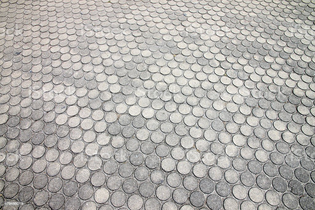 Brick walkway. royalty-free stock photo