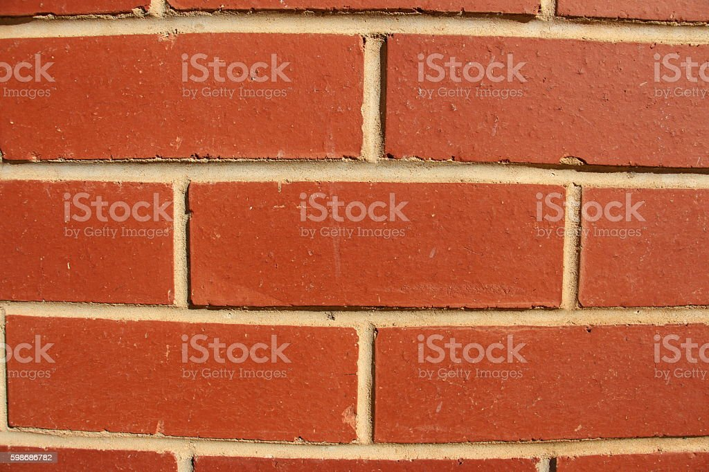Brick wall 01 stock photo