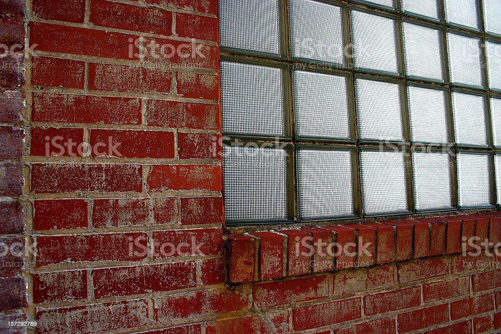 Brick Wall Abstract royalty-free stock photo