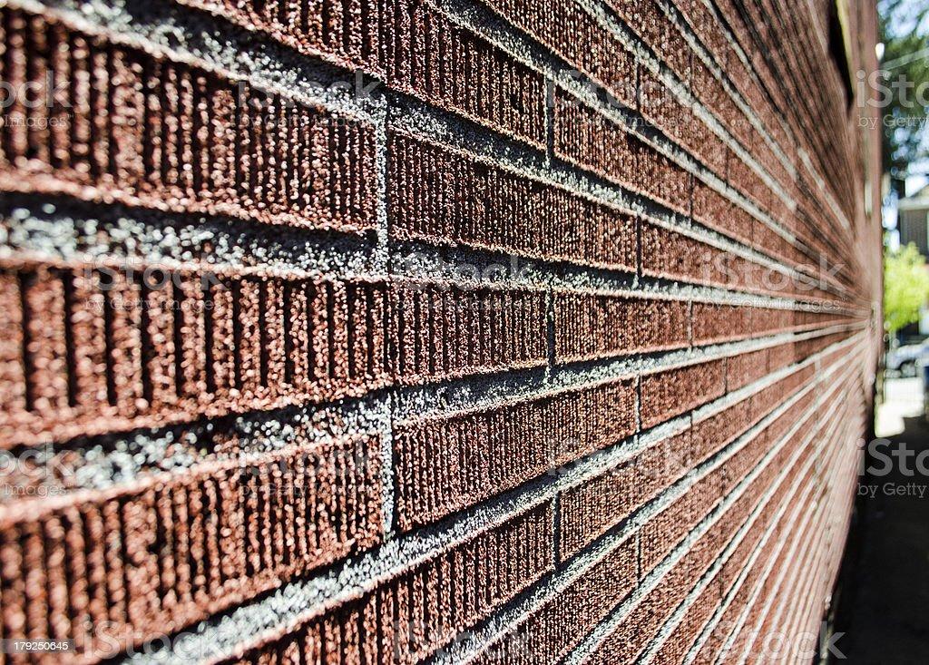 Brick Wall Abstract royalty-free stock photo