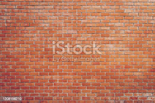 brick wall background and texture with copy space.