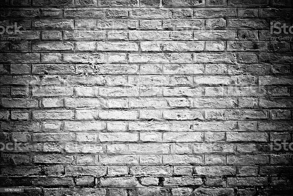 Brick Wall Background Black And White Nobody Stock Photo ...