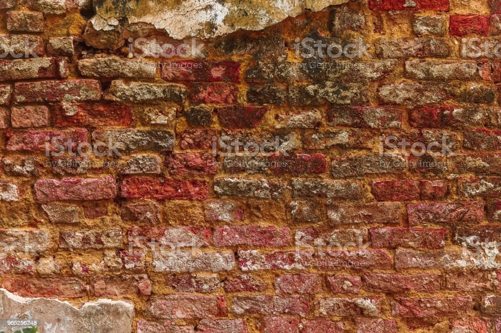 Brick wall background. Old texture royalty-free stock photo