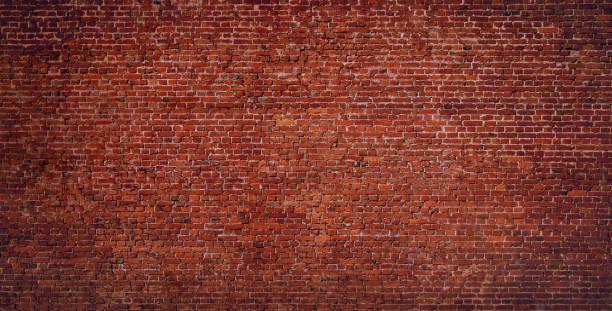 벽돌 벽 배경 - 벽돌 담 뉴스 사진 이미지