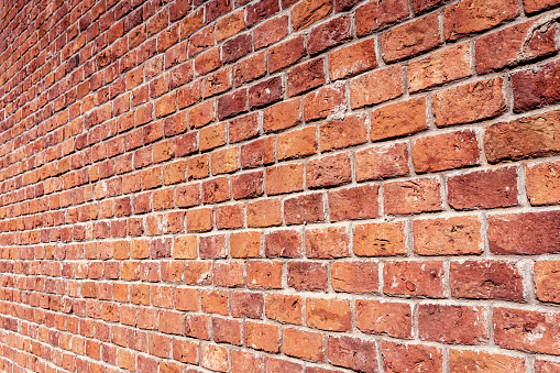 brick wall perspective background