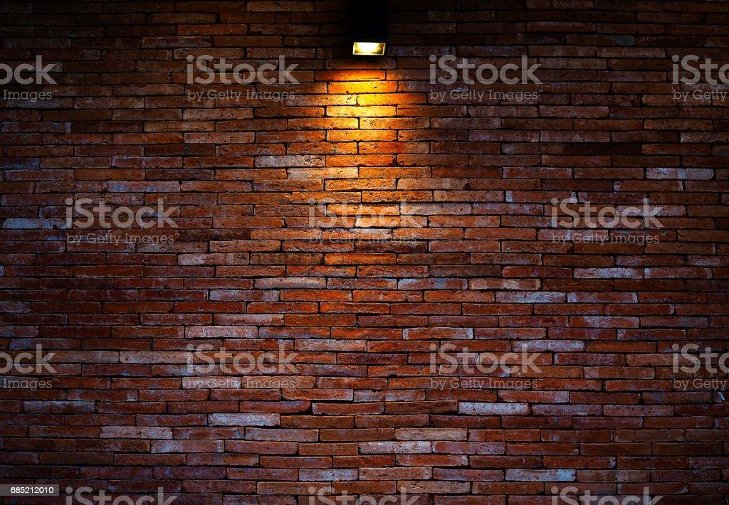 Mur de briques arrière-plan. - Photo