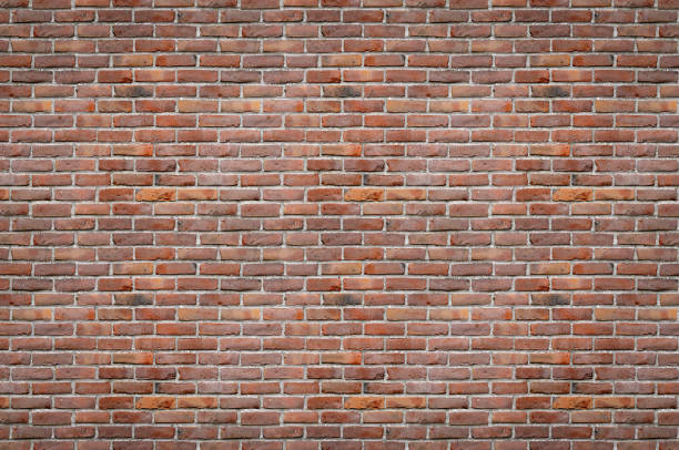Brick Wall Background (3:2 Format) stock photo
