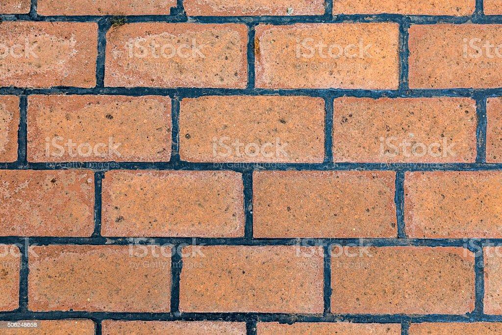Brick wall background - stock image stock photo