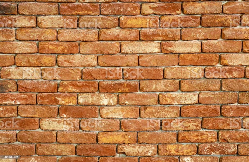 Brick wall background texture brown royalty-free stock photo