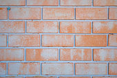 Brick wall background texture close up