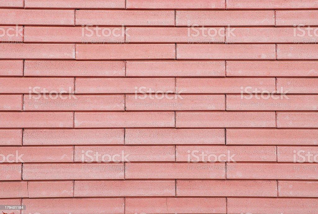 Brick wall background - texture pattern royalty-free stock photo