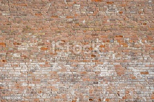 Abstract of Brick Wall