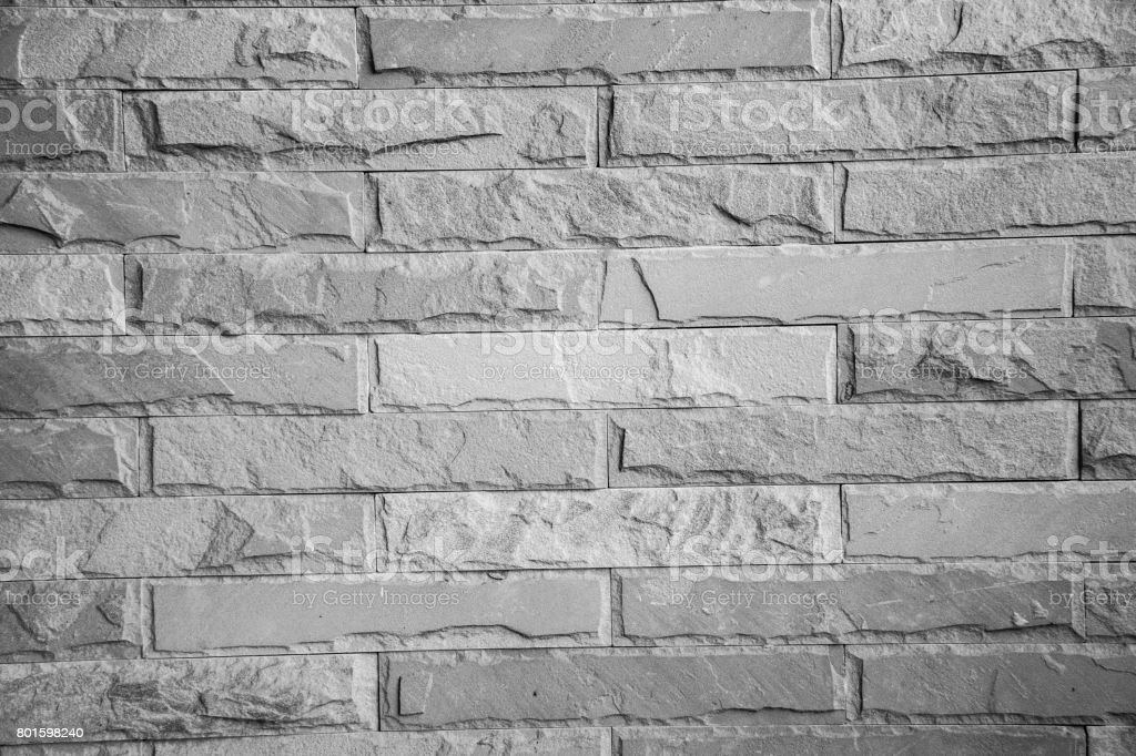 brick wall black and white texture background.