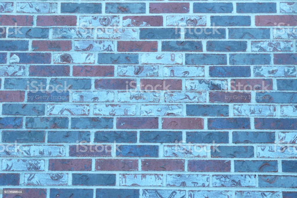 Brick Wall Close Up Abstract stock photo
