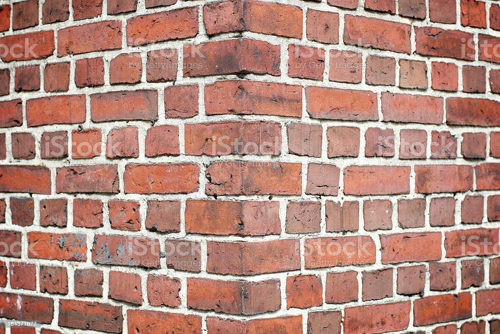 Brick Wall Corner Full Frame Background Stock Photo Download Image