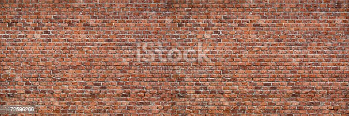 Brick wall dirty old texture background