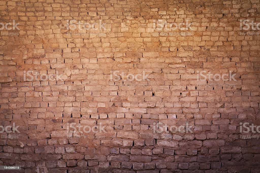 Brick Wall for Background royalty-free stock photo