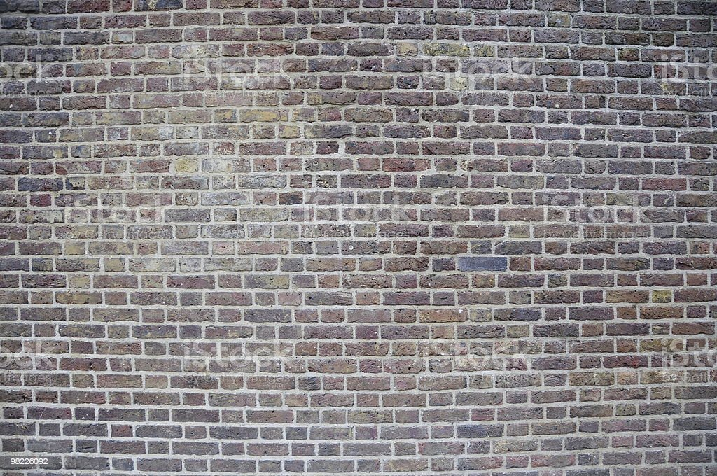 Brick Wall Full Frame royalty-free stock photo