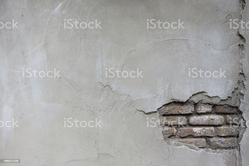 Brick wall grungy frame stock photo