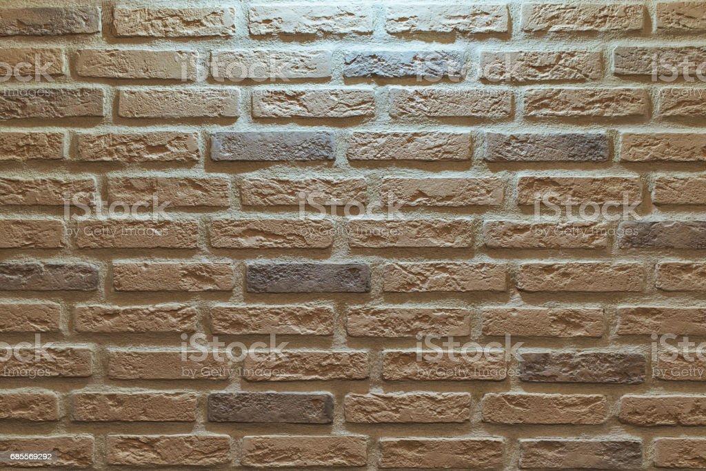 牆面磚; 照從上面 免版稅 stock photo