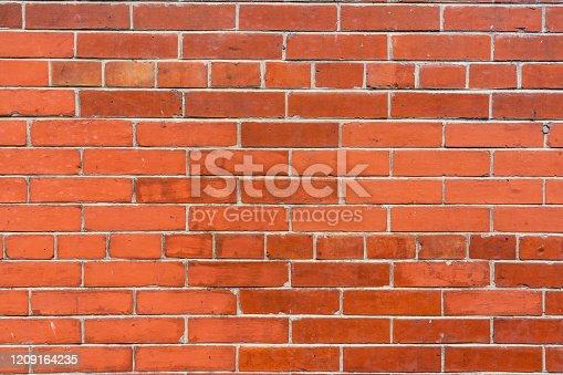 Brick Wall In Hong Kong, China