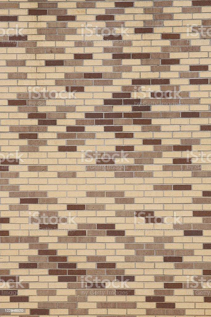 Brick Wall - Mid-Century stock photo