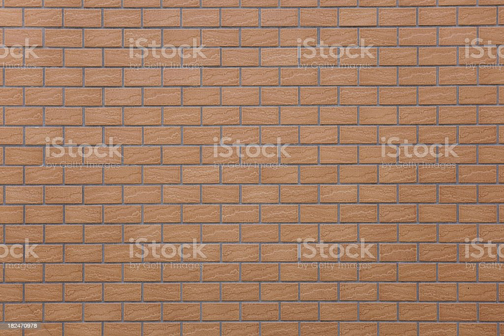 Brick wall pattern for background and texture royalty-free stock photo