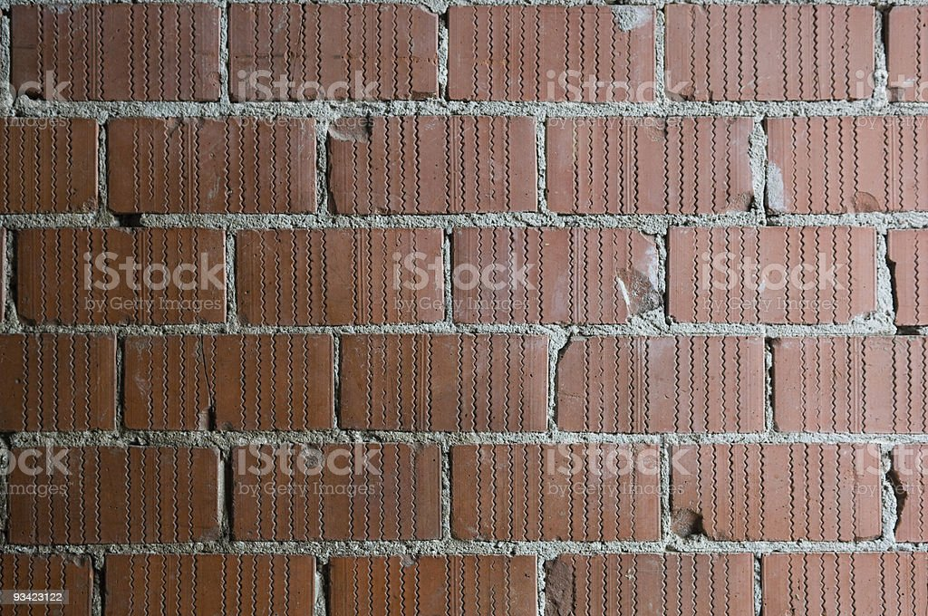 Brick Wall Pattern royalty-free stock photo