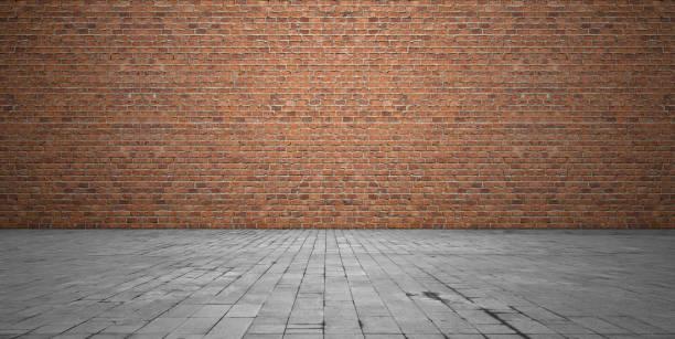 벽돌 벽면 - 벽돌 담 뉴스 사진 이미지