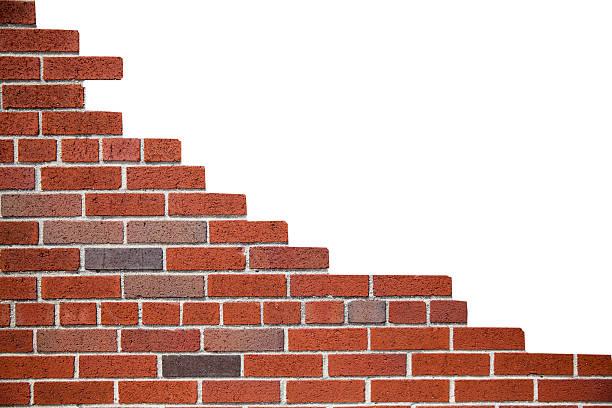brick wall - sammelalbum wandkunst stock-fotos und bilder