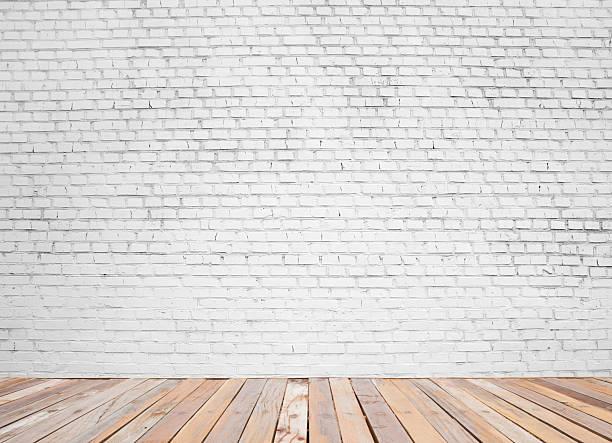 벽돌전 벽에 - 흰색 벽돌 담 뉴스 사진 이미지