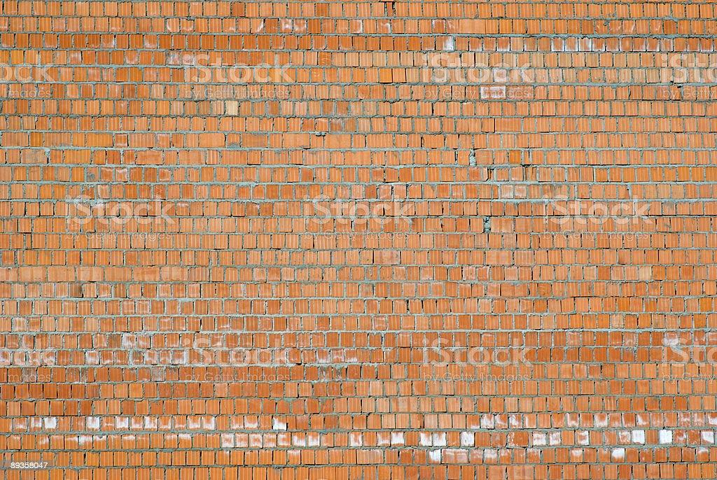 Muro di mattoni foto stock royalty-free