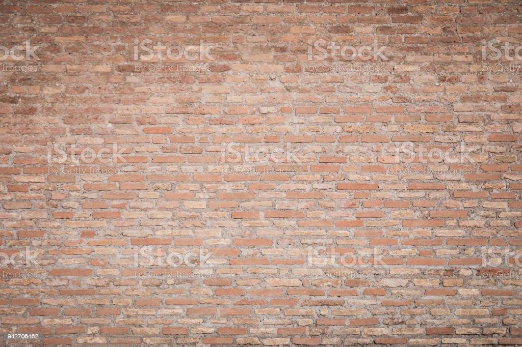 Bakstenen muur foto