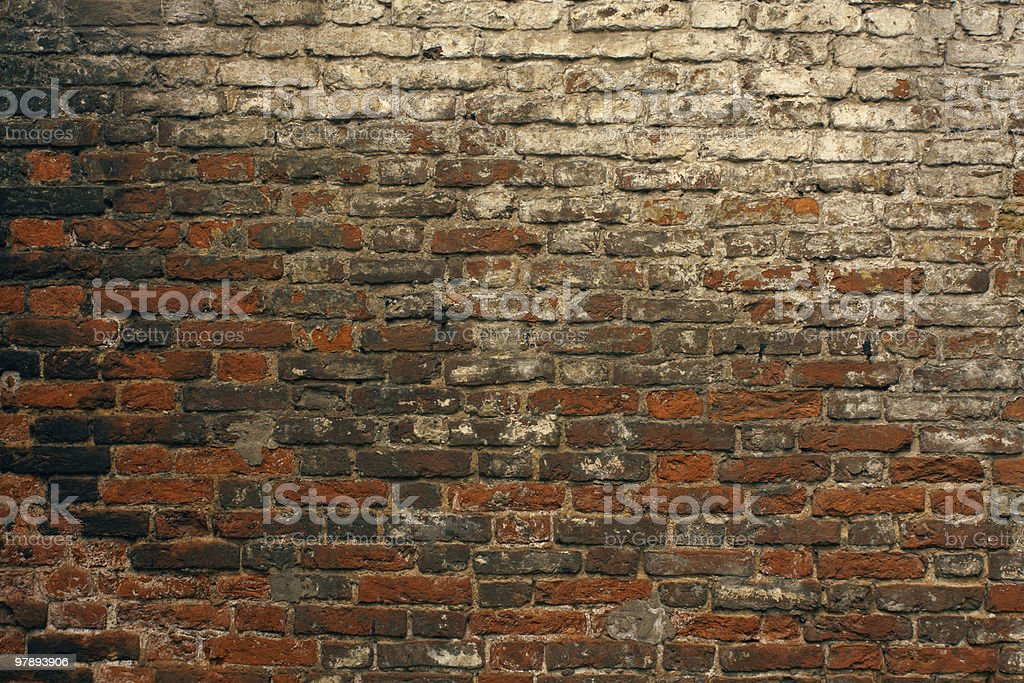 brick wall royalty-free stock photo