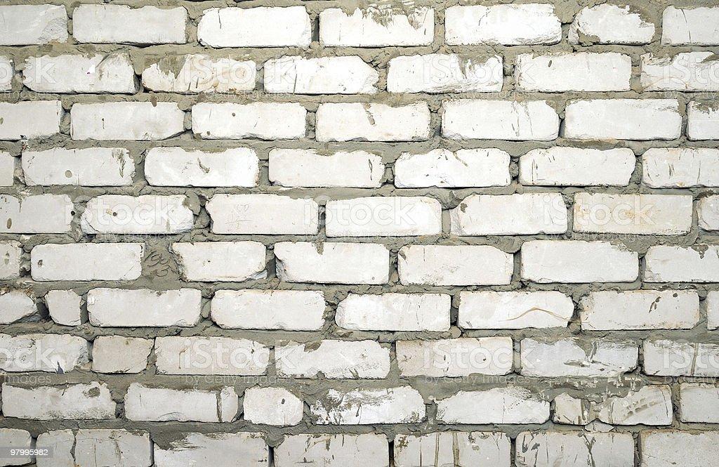 Brick wall royalty free stockfoto