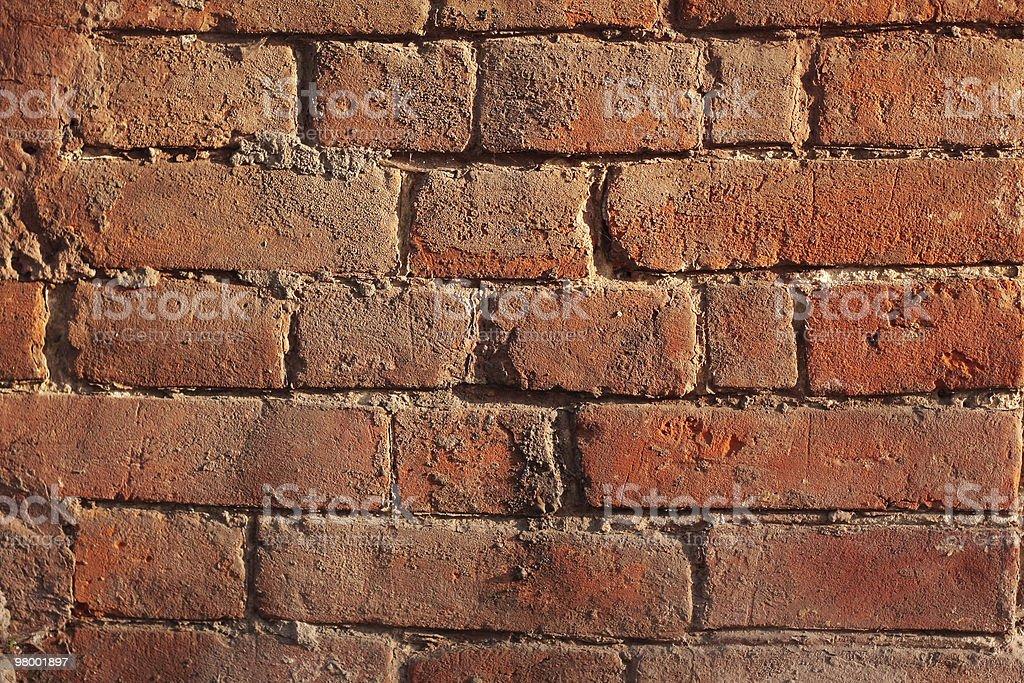 Parede de tijolo foto royalty-free