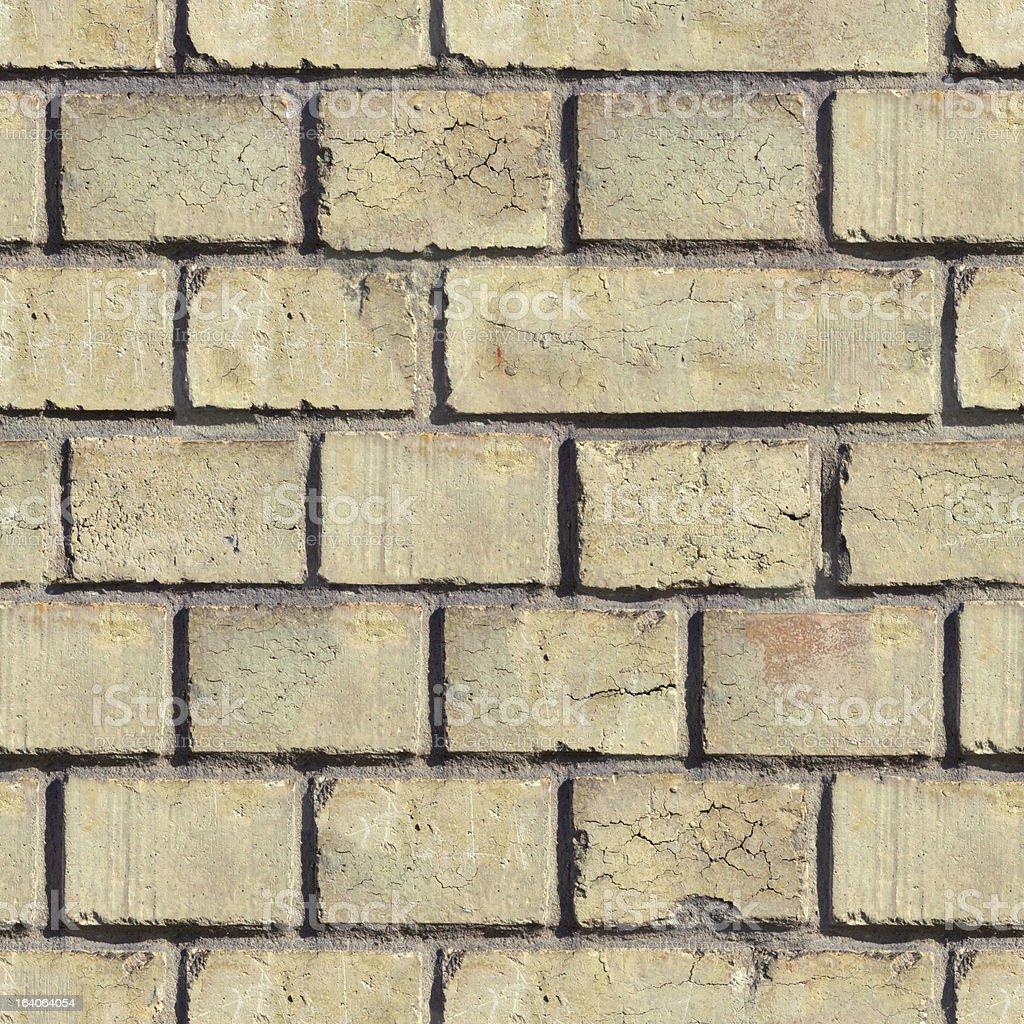 Brick Wall. Seamless Texture. royalty-free stock photo