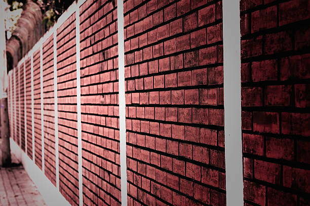 Brick wall texture. Architectural background stock photo