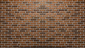 Brick wall texture for background.